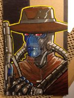 Cad Bane by MARR-PHEOS