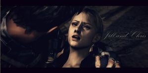 Jill and Chris - RE5 by Keyre