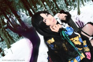 Game Sengoku Basara 3 Ichi [Demon Hands] Cosplay by K-I-M-I