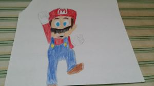 Just Another Mario Drawing by SonicX16