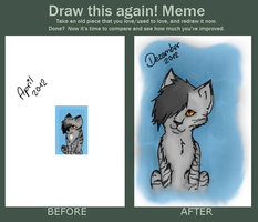 Draw it Again meme by Moqie