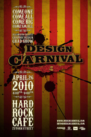 Design Carnival Event Poster by corvus-tiberius