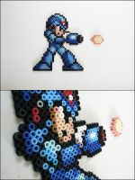 Megaman x and bullet bead sprites by 8bitcraft