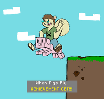 Minecraft: ACHIEVEMENT GET by Chaz-GELF