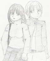 Rion and Victor by rianna