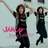 Jumping with Demii by NataliaJonas