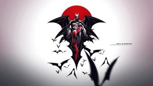 BATMAN-HARLEY- wallpaper-1920x1080 by e-guerrero
