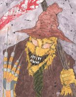 Scarecrow by Defaced-Fiend