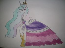 Celestia's Dress by Angela-Ross