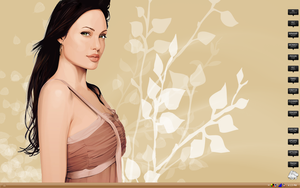 Yum Angelina Jolie February 08 by MrEyePatch