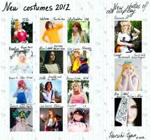 Cosplay for 2012 by Haruhi-tyan