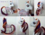 My little Pony Custom Aztec No. 3 by BerryMouse