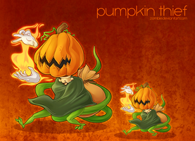 Pumpkin Thief by zombie