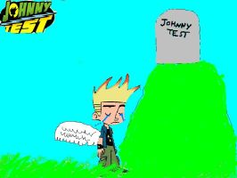 Angelic Johnny Test by Xiaolin101