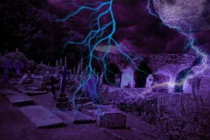 Midnight Hour Pre-Made Background Vampstock by VAMPSTOCK