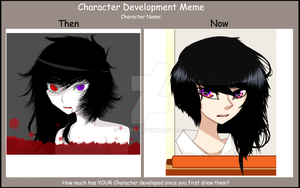 Character Redesign Meme by X-Kazumi-X