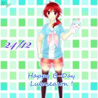 Happy B-Day Luluseason ! by MyaSan