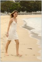 Peach on Balmoral Beach 1 by wildplaces