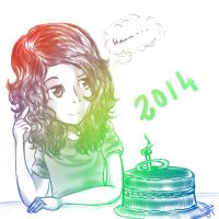 Birthday 2014 by JunieT