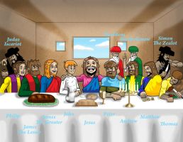 The Last Supper by KrynTheViking