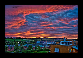 Pink And Blue Sky Hdr... by OrisTheDog