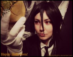 Happy Halloween from Sebastian by WhiteSpringPro