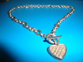 Silver heart necklace 2 by Laura-in-china