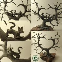 tree before painting  and final tuning by Ladybird18