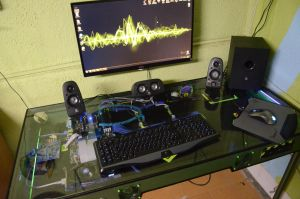 Home-made pc/desk (day time) by Sir-Jackselot