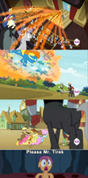 The Reason Why Lord Tirek Don't Take Scootaloo by newsuperdannyzx