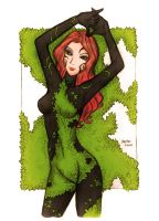 Poison Ivy - The New 52 by bluekensou