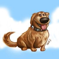 Meet Dug Colored by holyghost13th