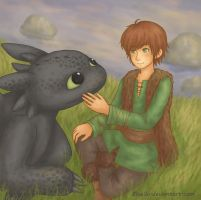 HTTYD - Friends by Bluellu