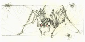 Sewing Spiders by subtle-design