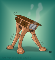 Buford the Table by TwinTwosGirl