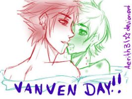 Vanven Day late!!!! by aerith31