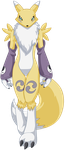 Renamon Walking - Vector Image by CoolProjects