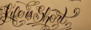 Life is short script by GeertY