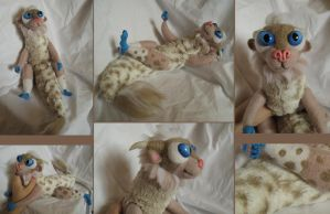 Beige hatchling by Zielle