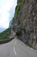 Road of the Gorges of the Bourne River by A1Z2E3R