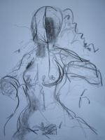 Undressed drawing by 7markus7