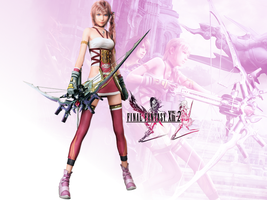 Serah Farron Final Fantasy XIII-2 Wallpaper Pack by FriedRyce