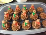 Teddy Bear Cupcakes by Nimhel