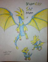 Dragon City Art 6 Star Dragon by DragonDrawer102