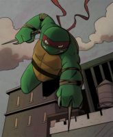 Raph On Patrol by TeeSquar3