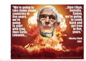 Wesley Clark Quote by jbeverlygreene