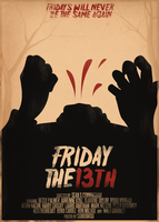 Friday the 13th Poster by SamRAW08