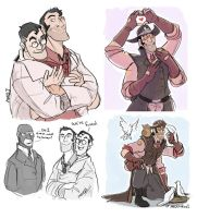 TF2 Fusion- doodles by MadJesters1