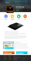 Professional Website Template Design PSD by cssauthor