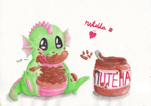 Nutella: Art from old account by St0oiE